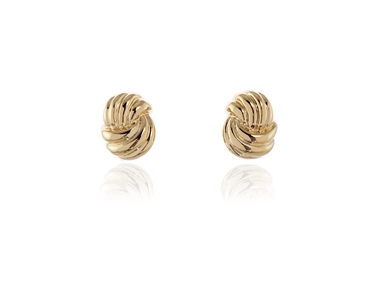 polished Lael Clip Earrings Gold